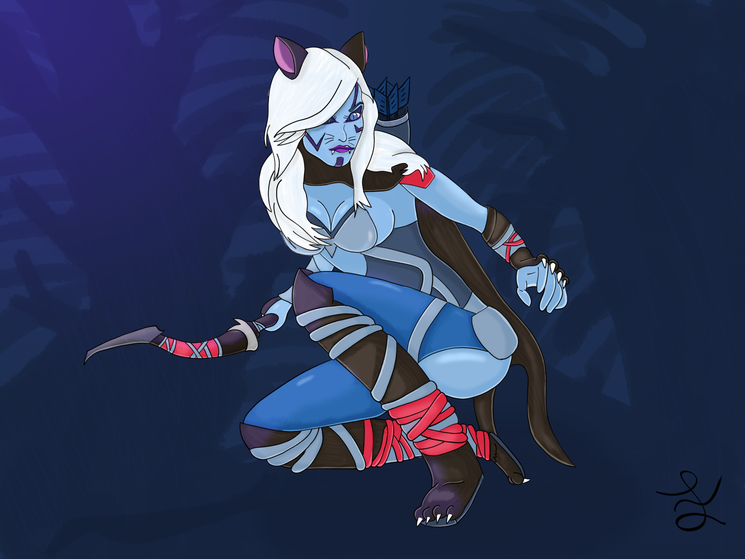 Drow (The Cat) Ranger