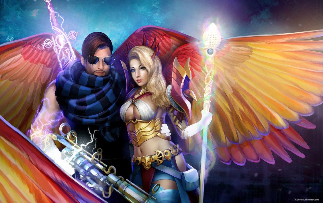 Guild Wars 2 couple