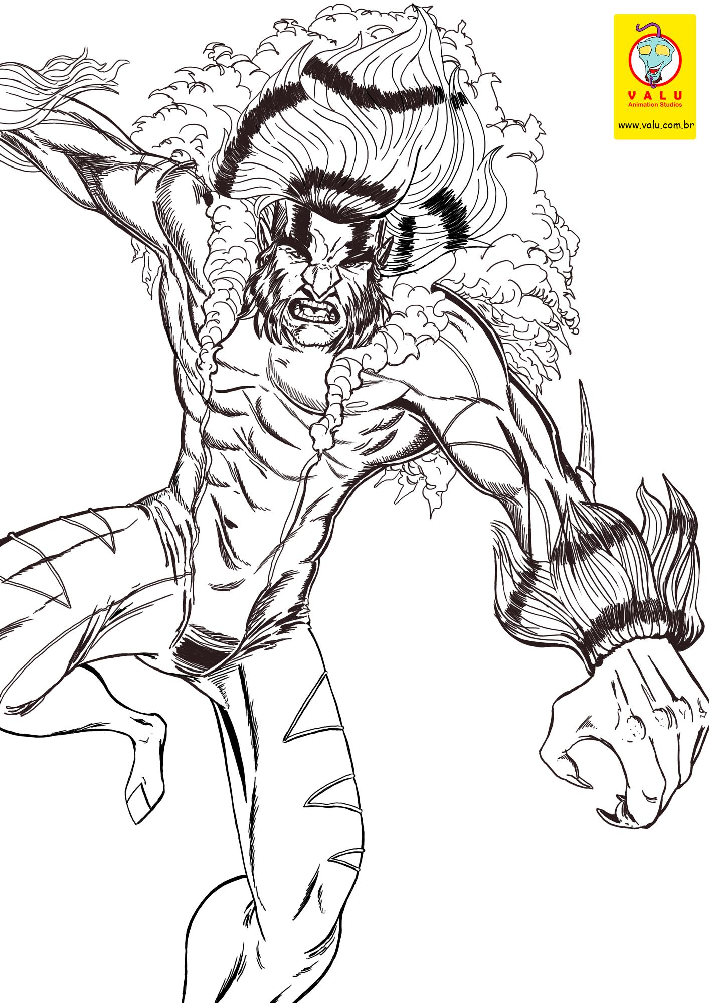 sabretooth marvel WIP