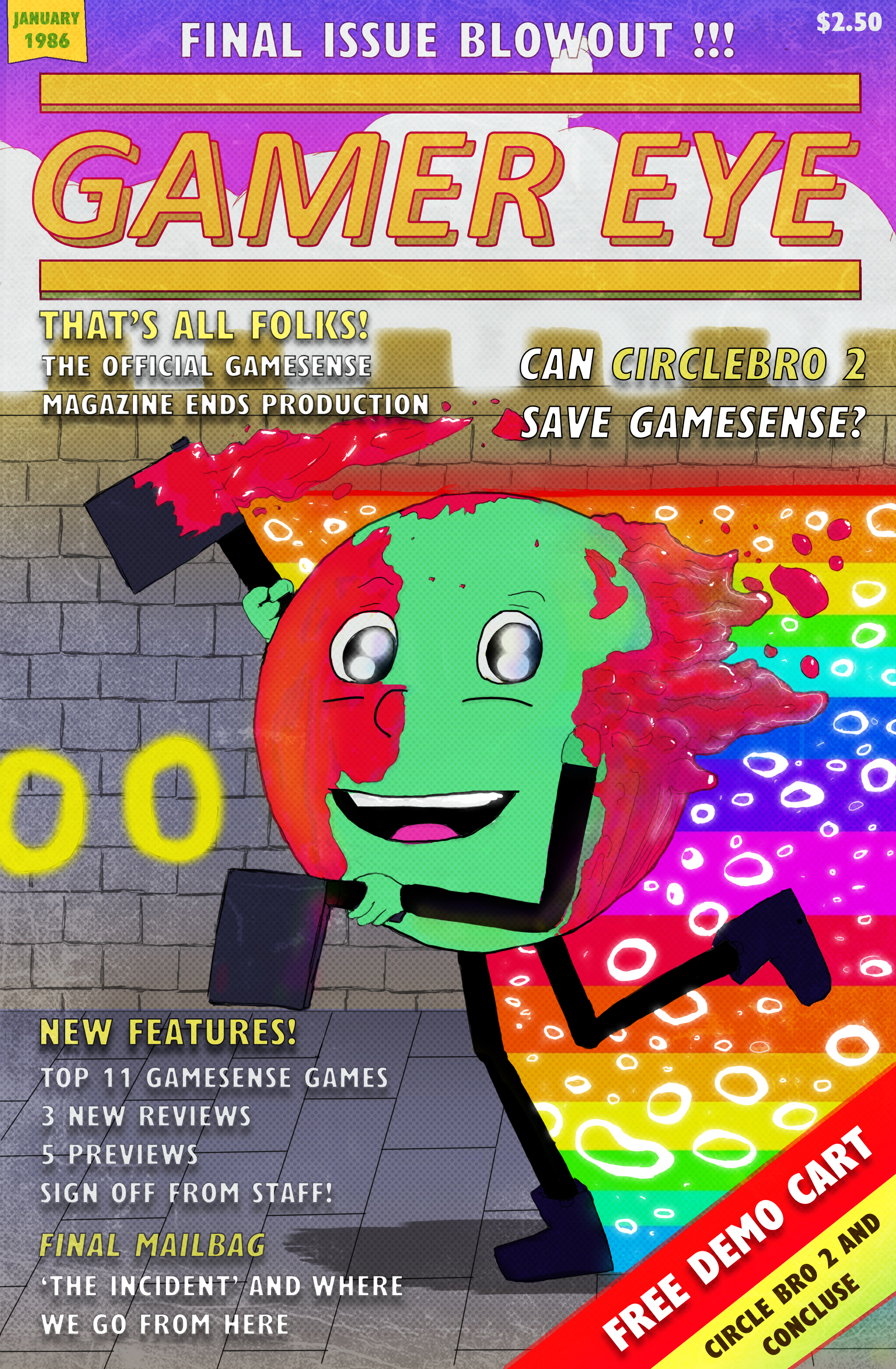 Gamer Eye Final Issue