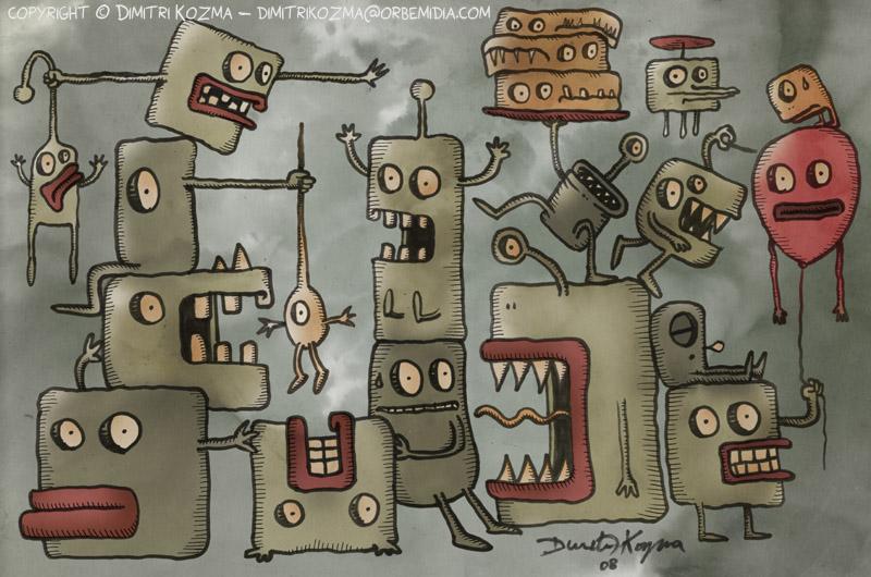 The Strange Creatures