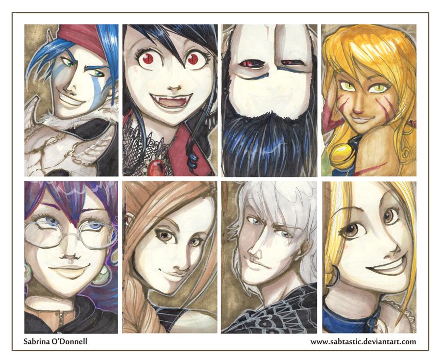 Prismacolor OC Portraits