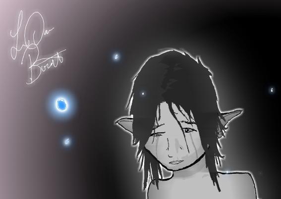 Elf crying
