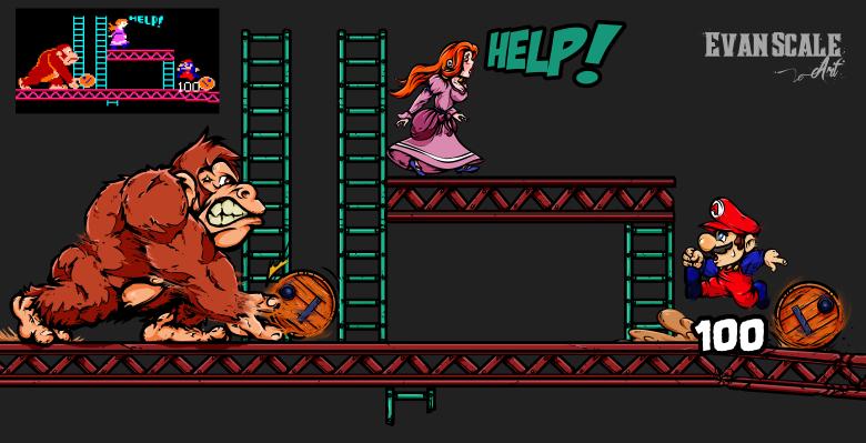 Donkey Kong - New Resolution