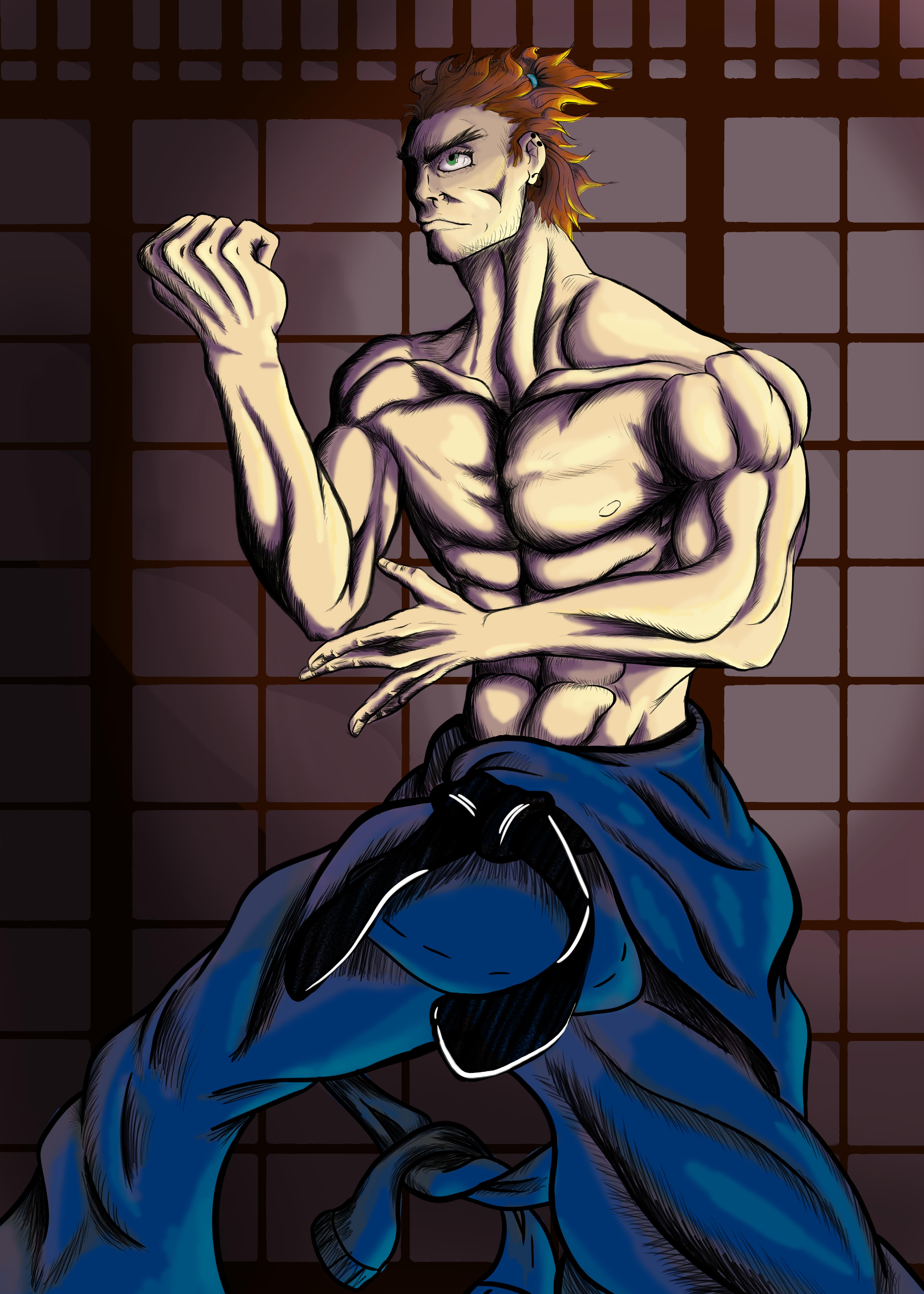 Ooka (original Street Fighter character)