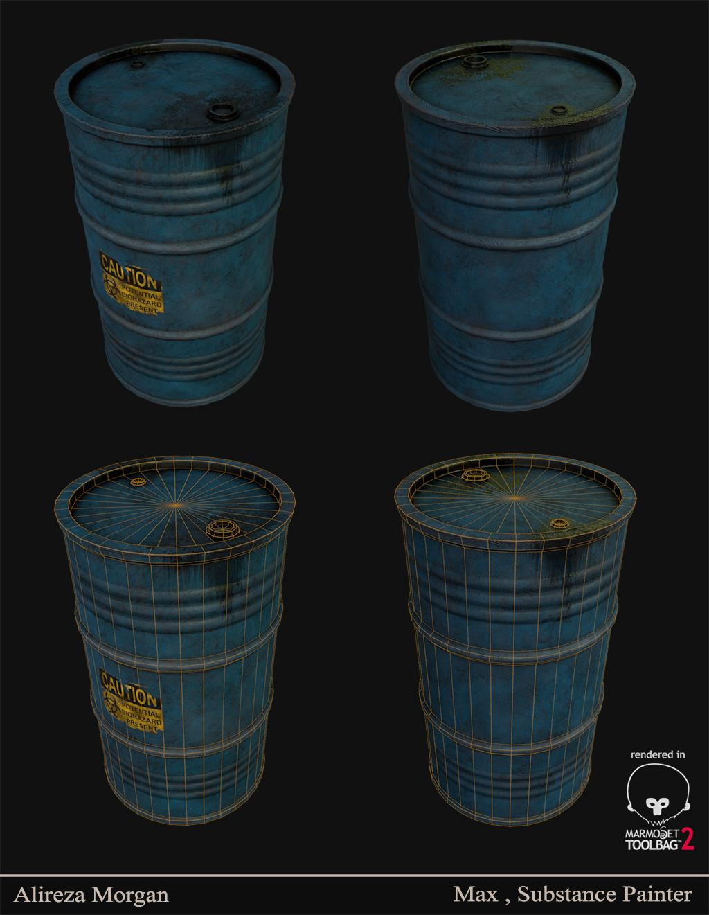 Just a barrel