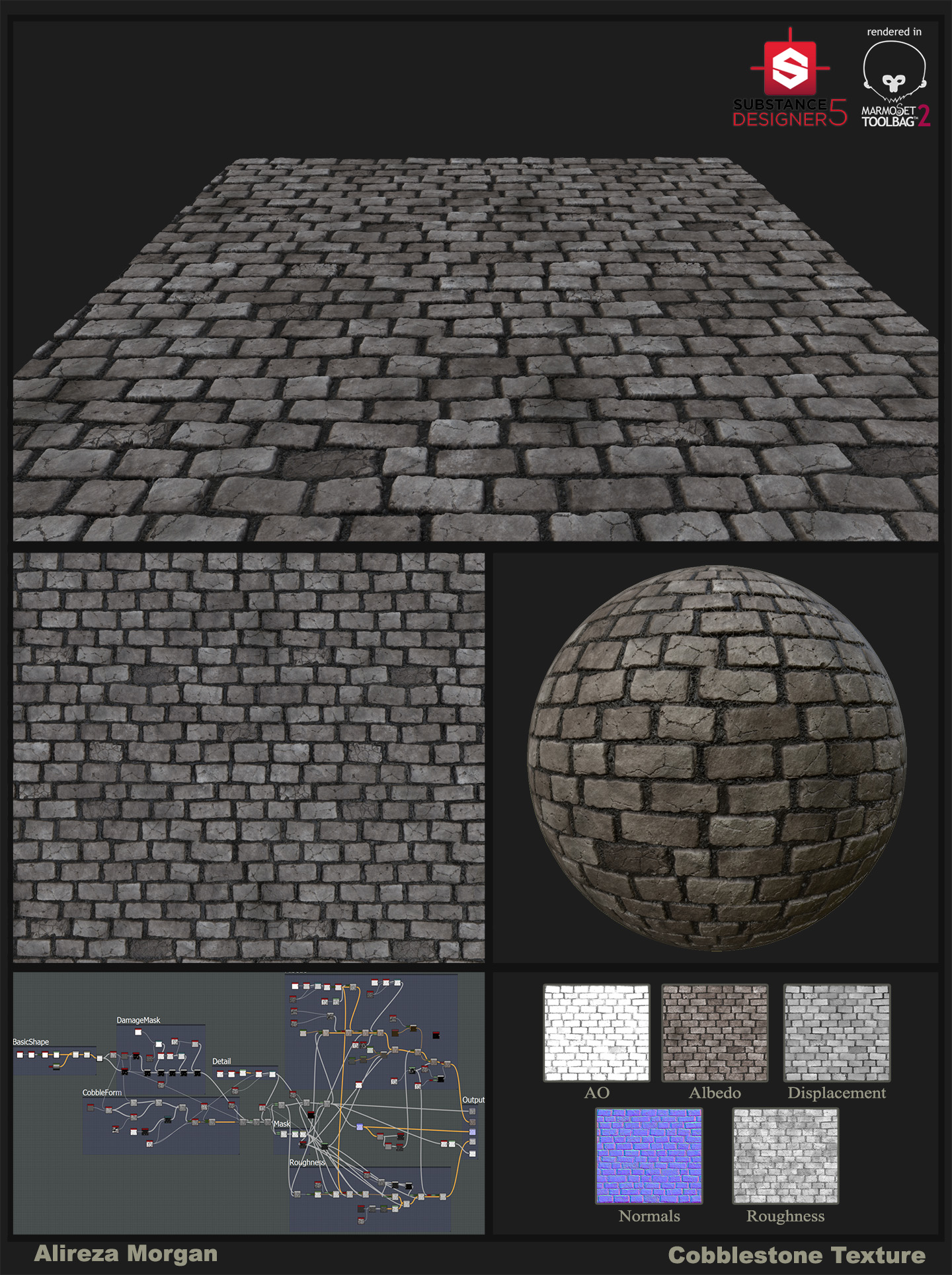 Cobblestone Procedural Texture
