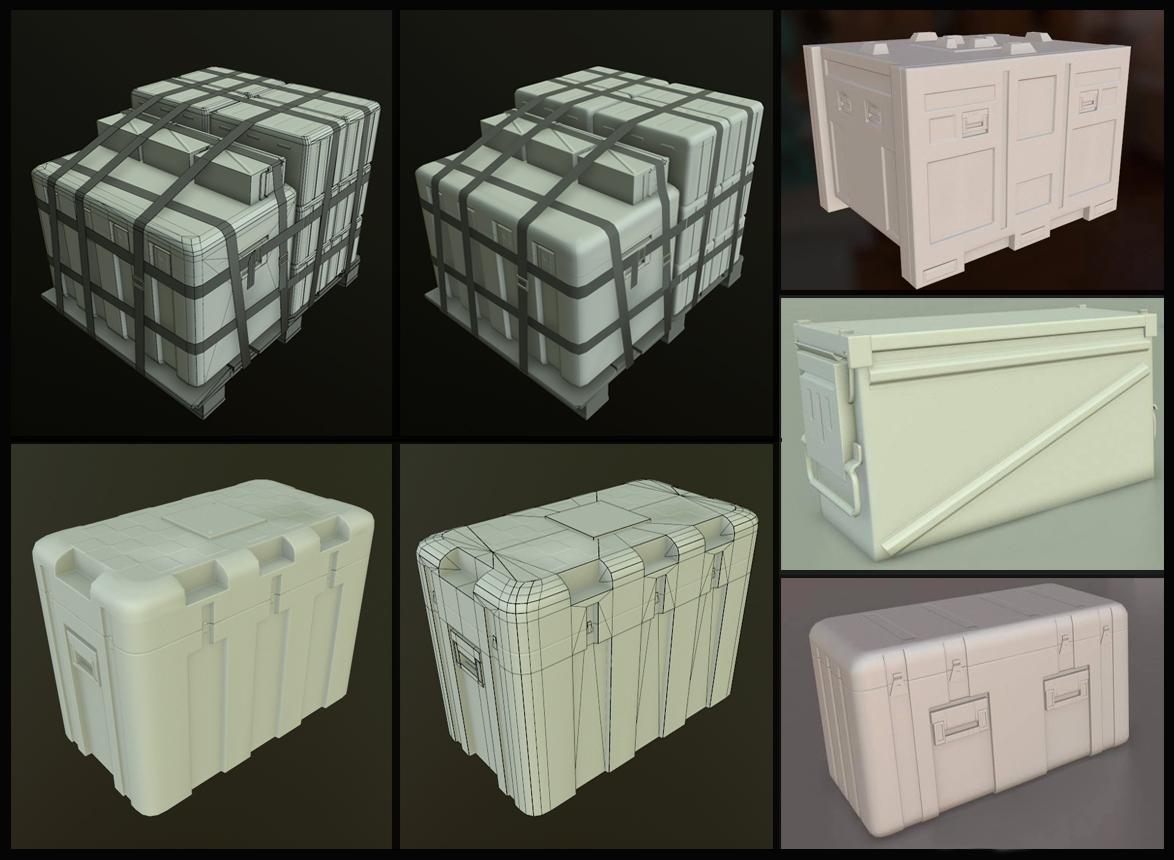 Militiry Supply Box