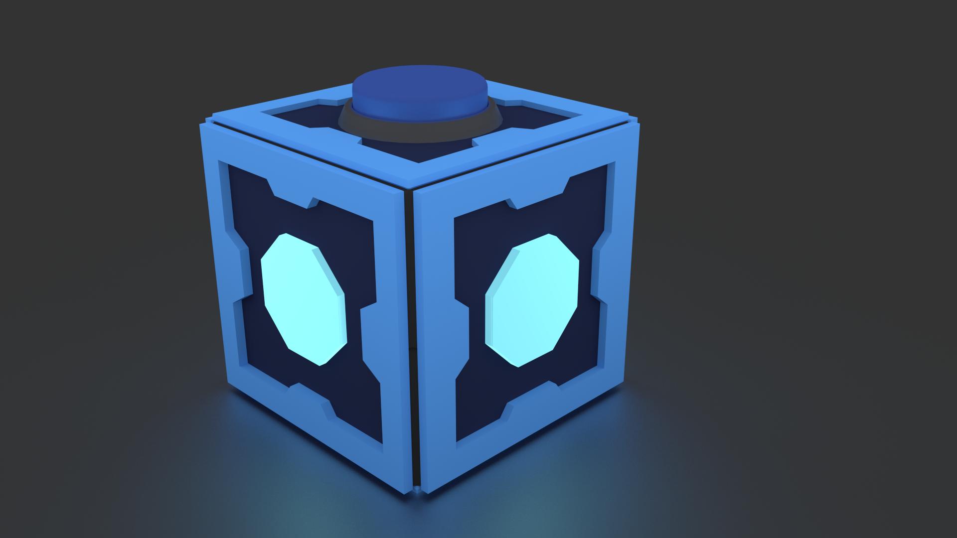 Mr Meeseeks Box 3D