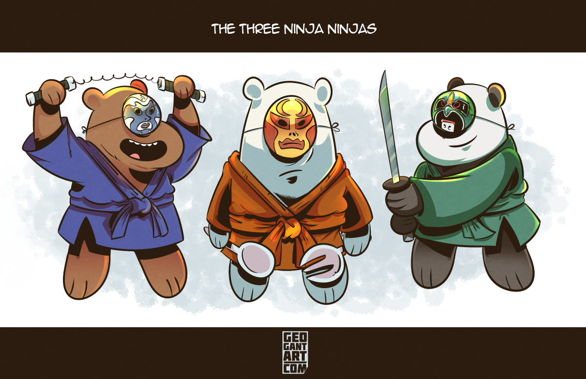 The Three Ninja Ninjas