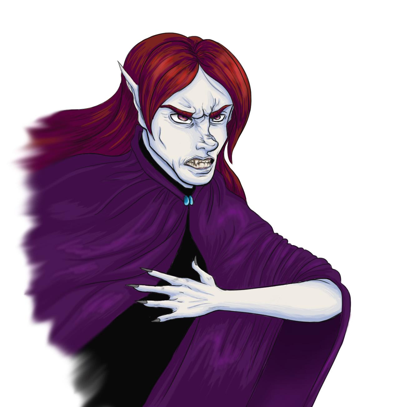 Valandre's anger