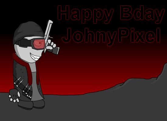 Happy Birthday JohnyPixel !