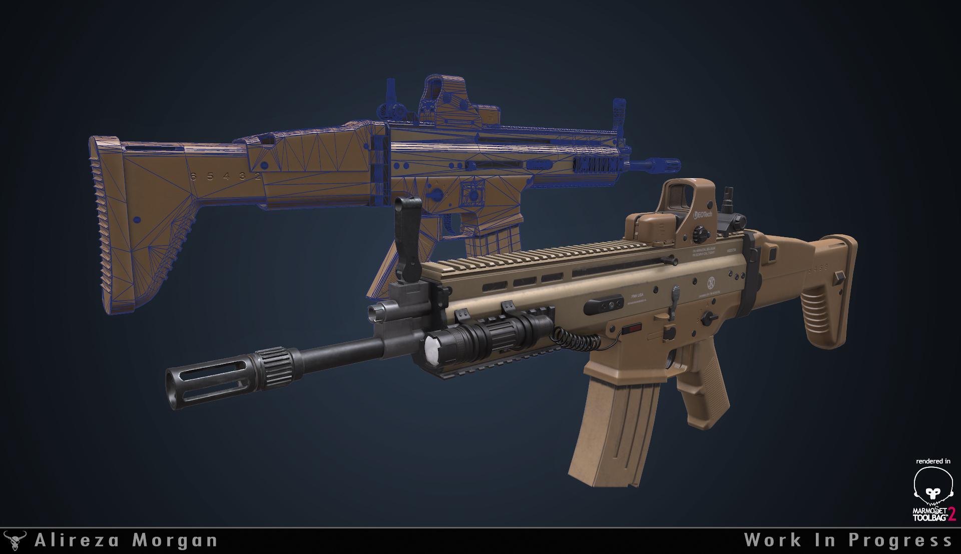 FN Scar WIP