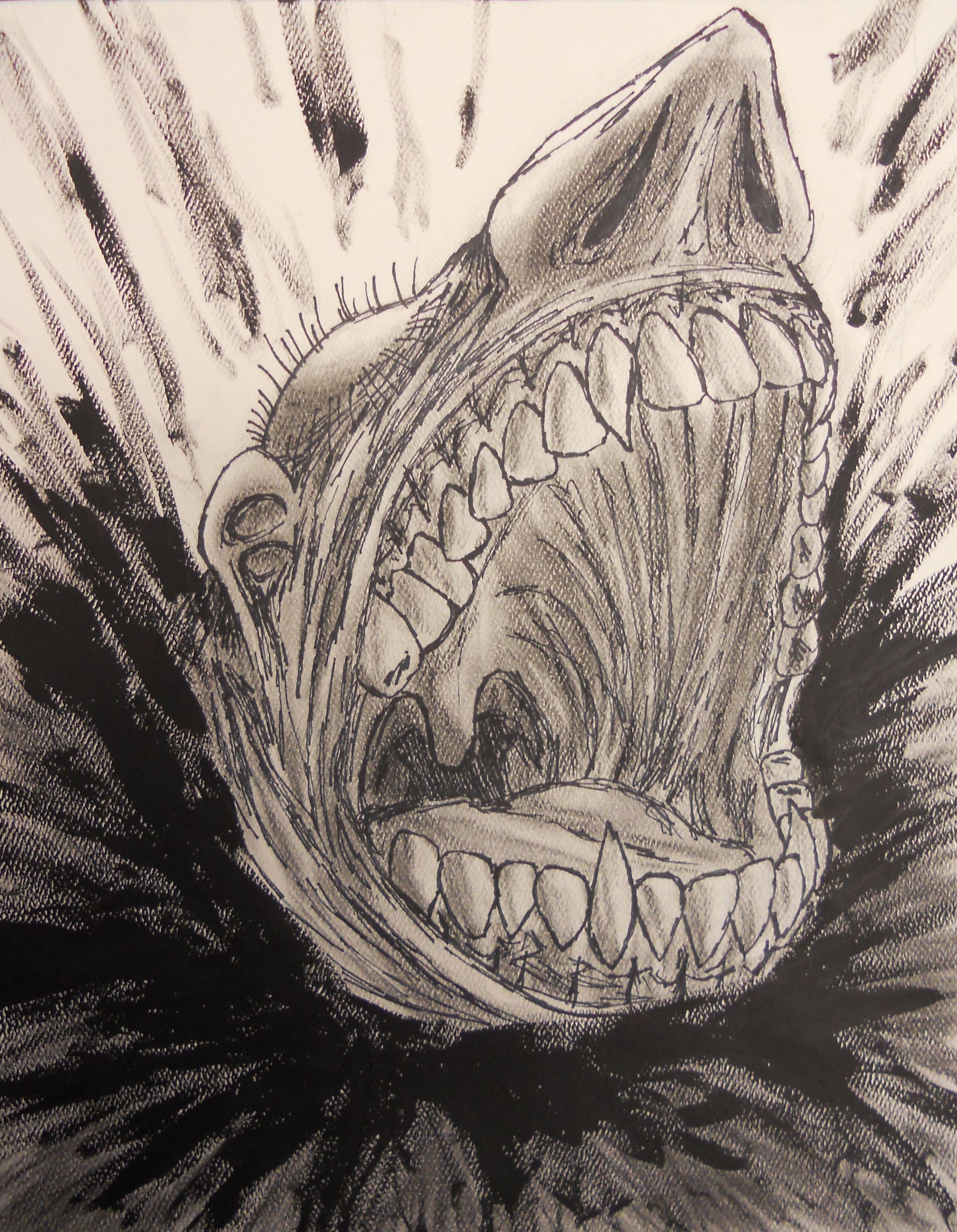 Scream In Sea