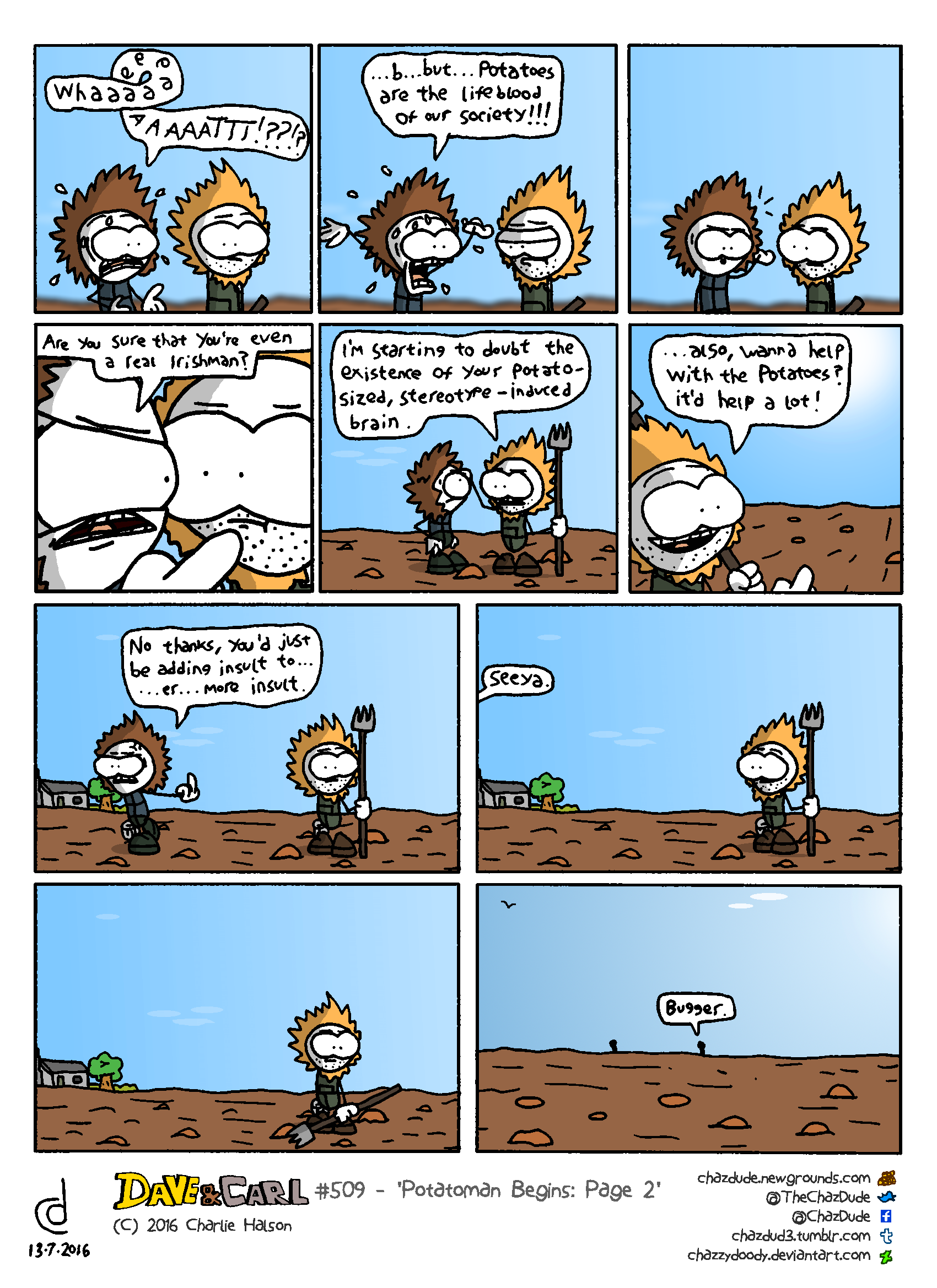 Potatoman Begins: Page 2