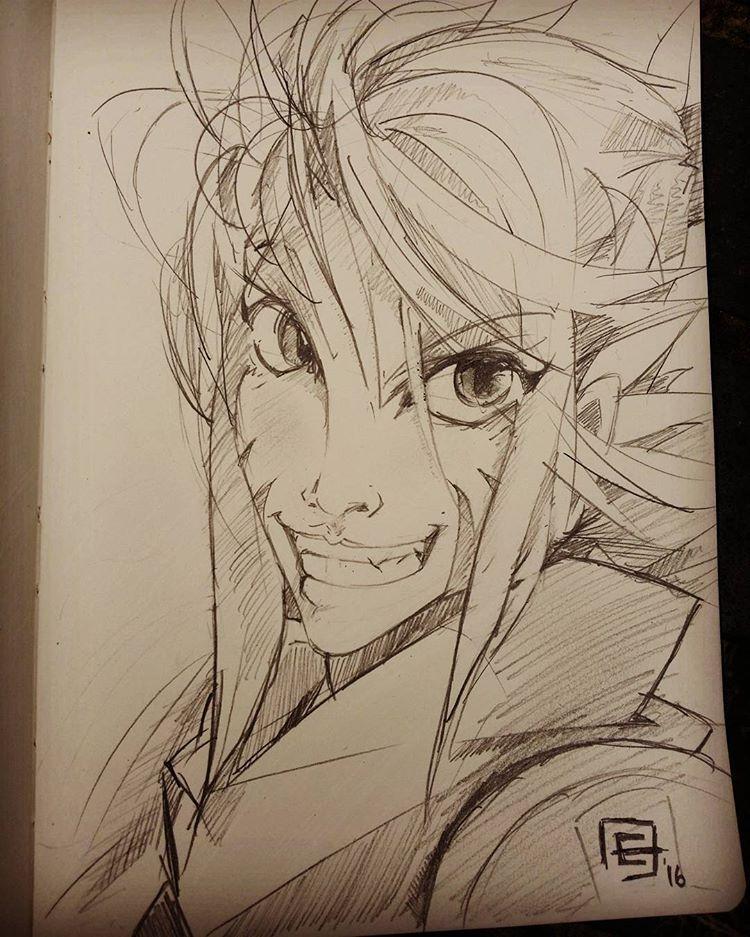 Sketchy Eva