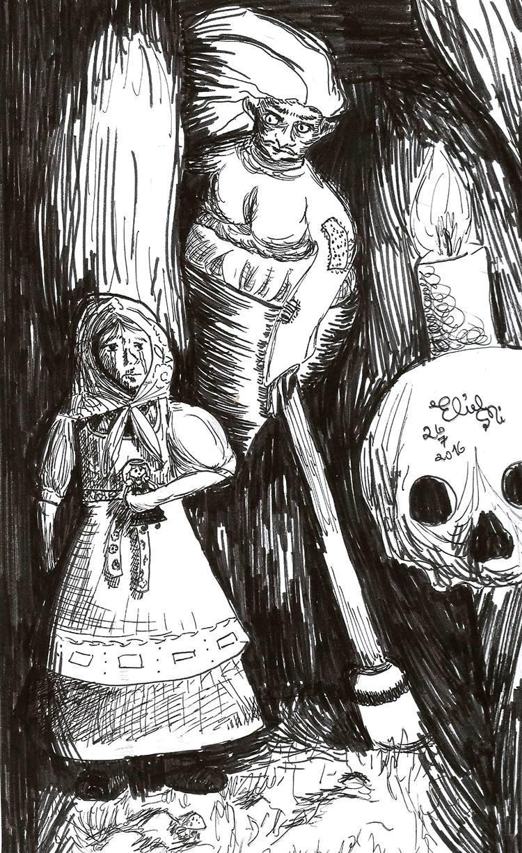 Vasilisa and Baba Yaga
