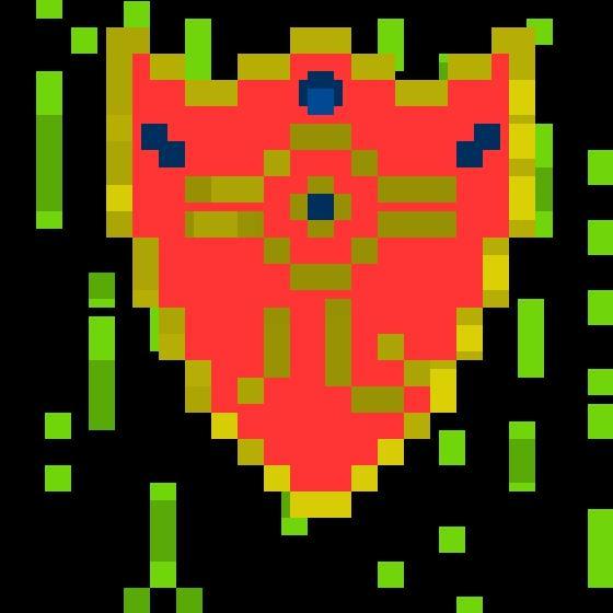 Millennium Shield [ Yu Gi Oh! Pixel Fan Art ]