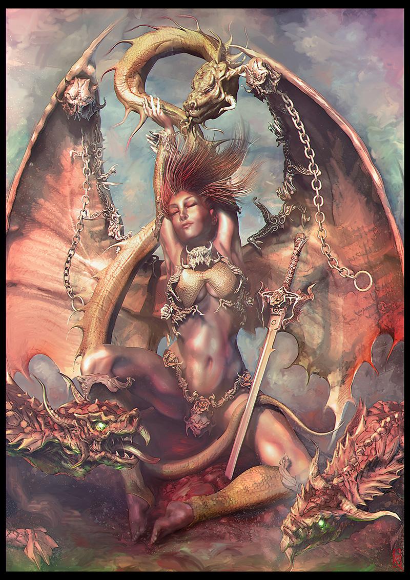 The Dragon Valkyrie