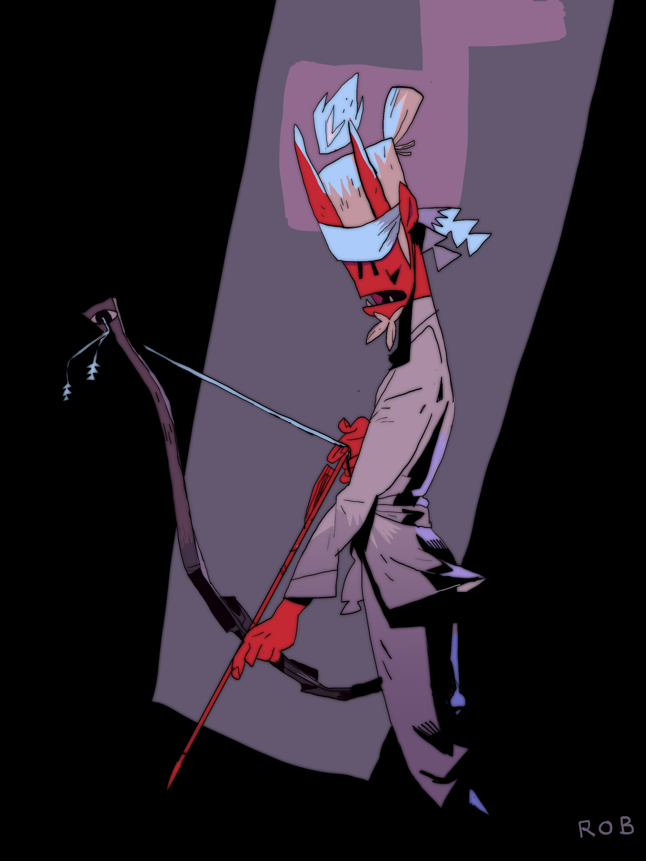The blind archer