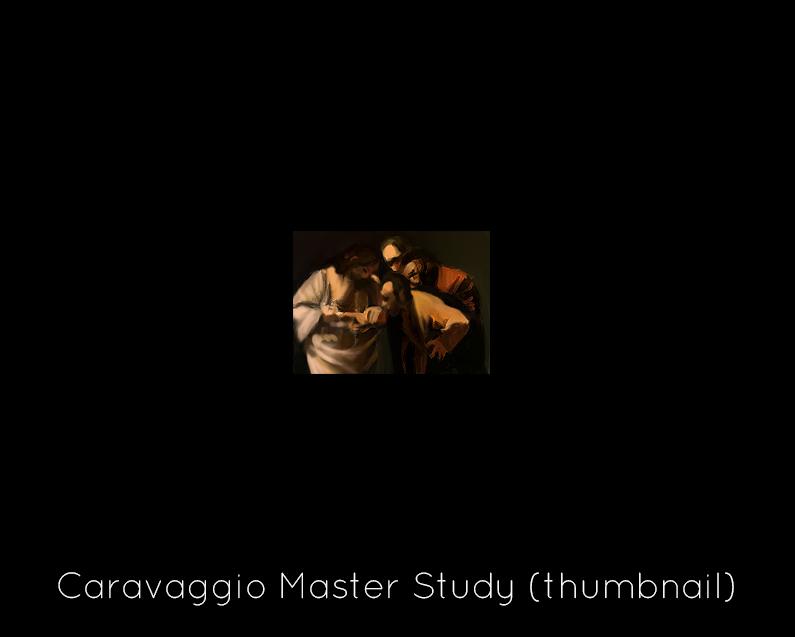 Caravaggio Master Study