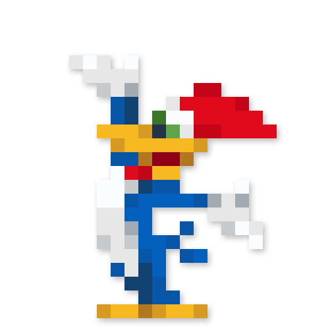 Day #171 - Woody Woodpecker