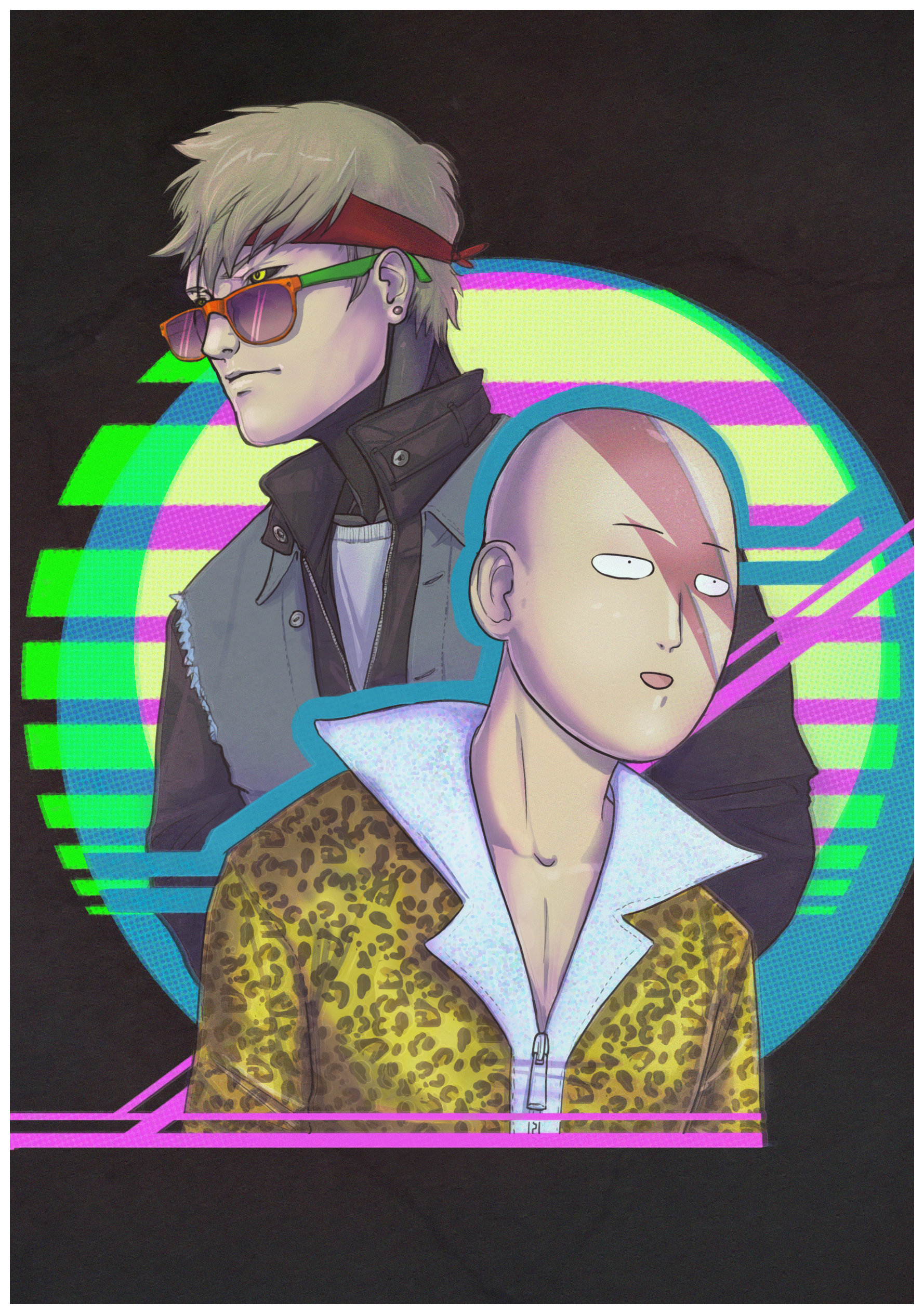 One Punch 80's Man