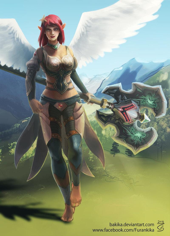 Arla Runes of Magic character