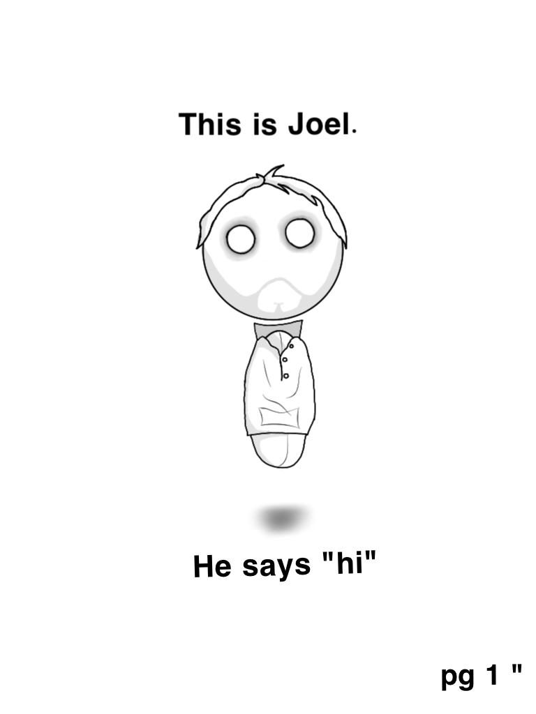 """This is Joel pg 1 """""""