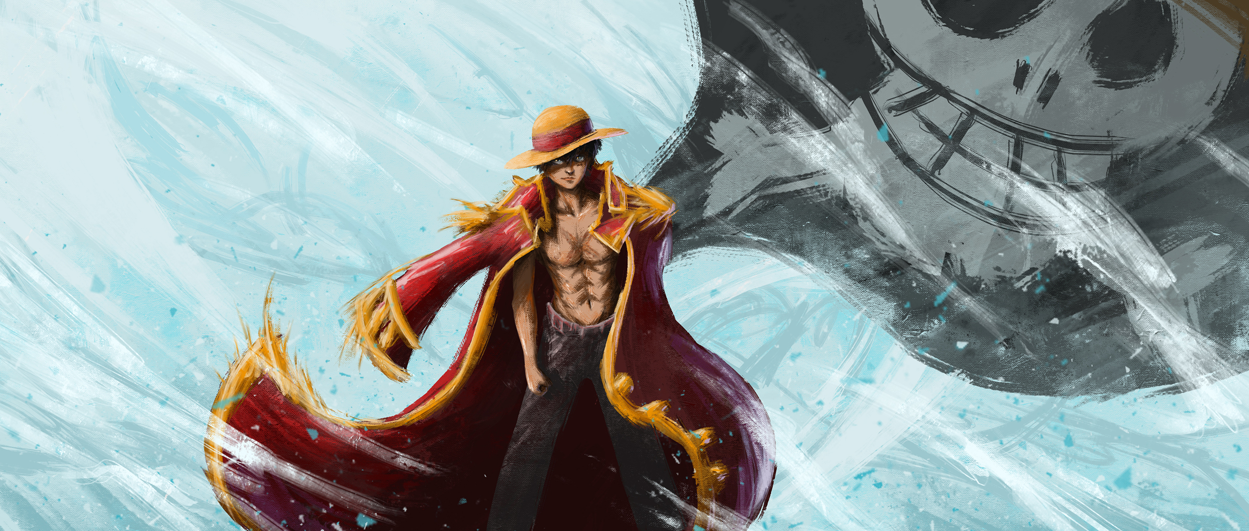 Monkey D. Luffy The Pirate King