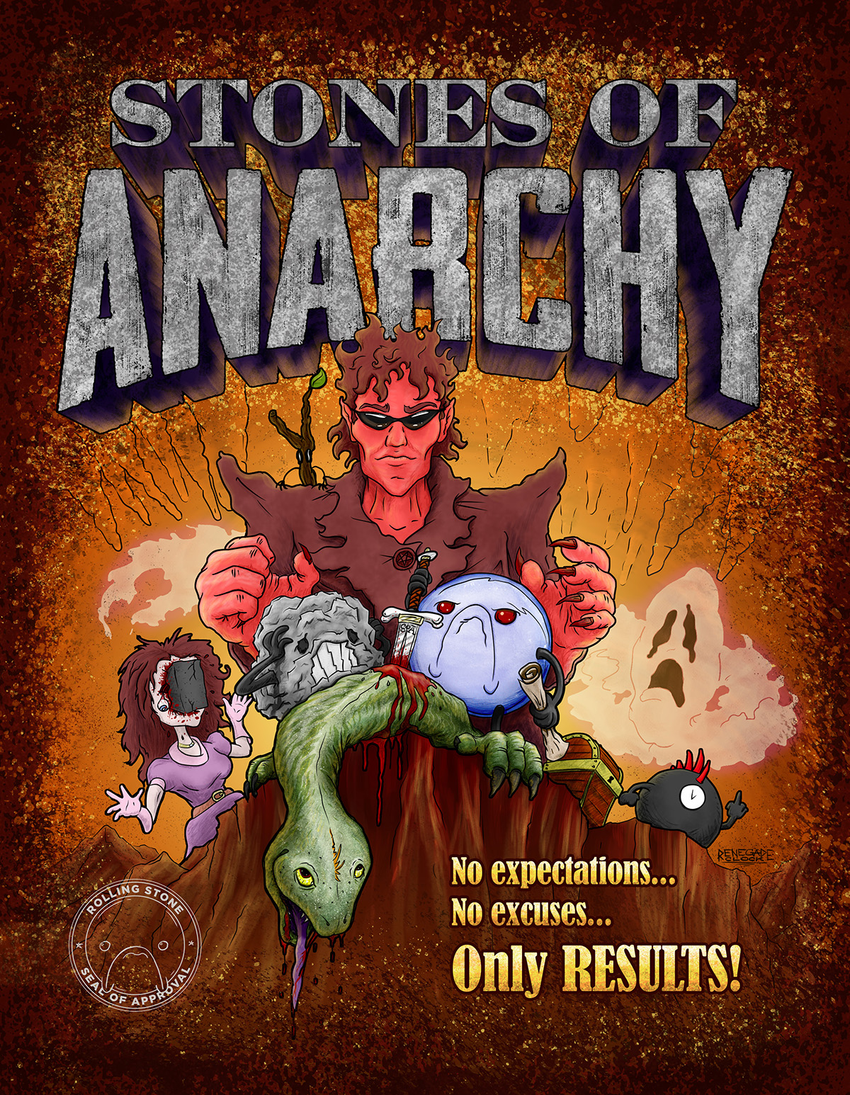 Stones of Anarchy Cover Concept
