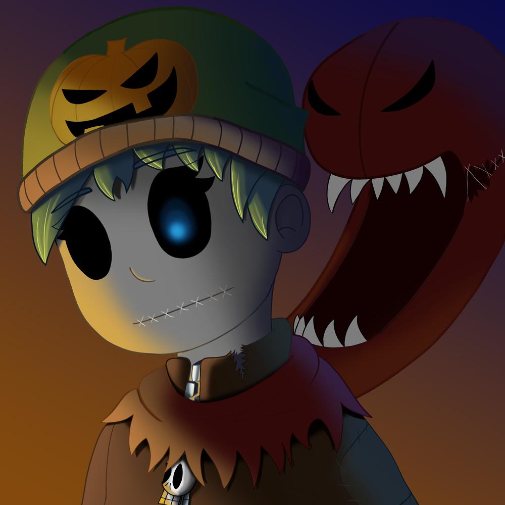 Amber Halloween Icon
