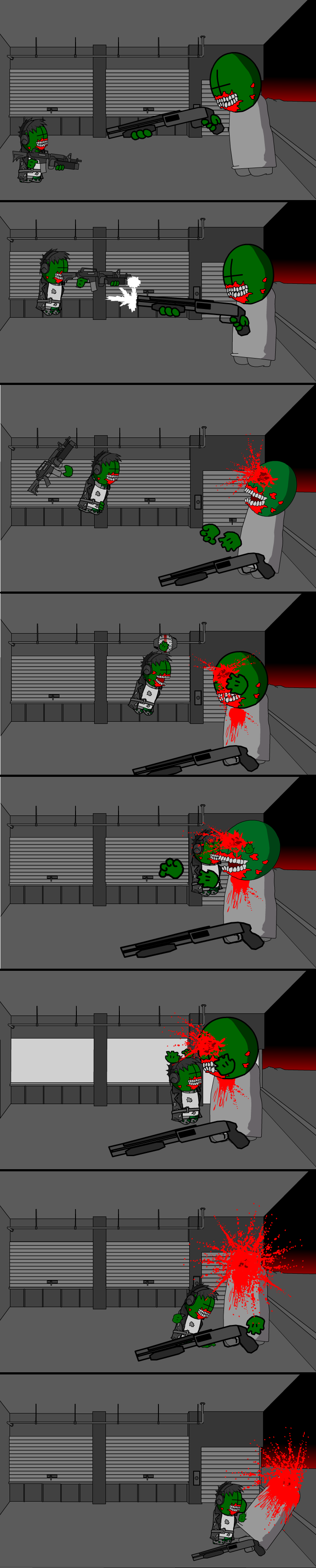 Mag Zombie Fight