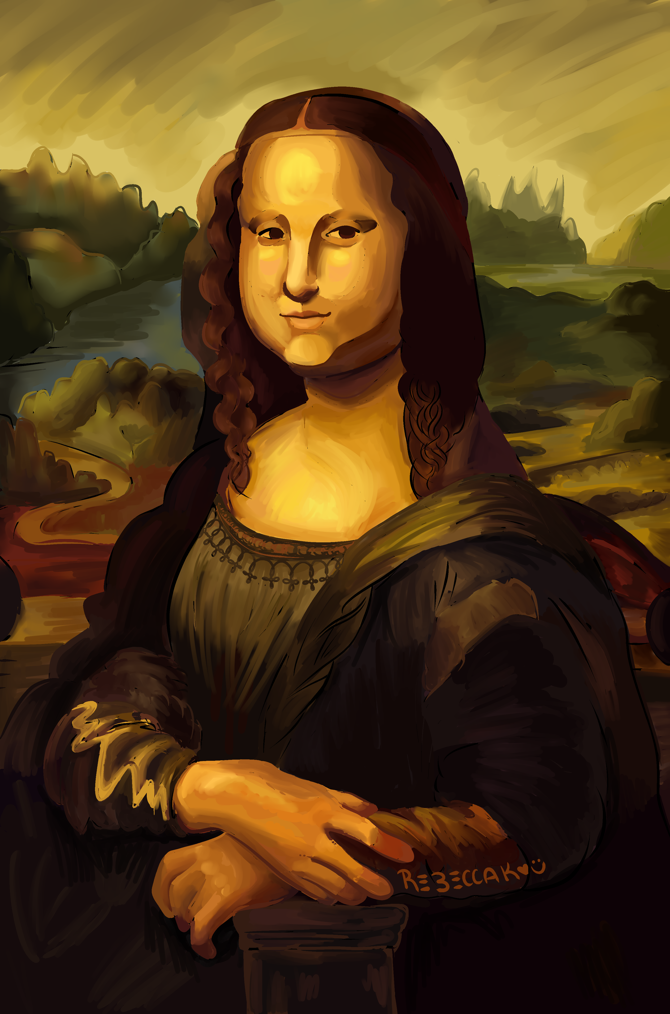 Mona Lisa Study