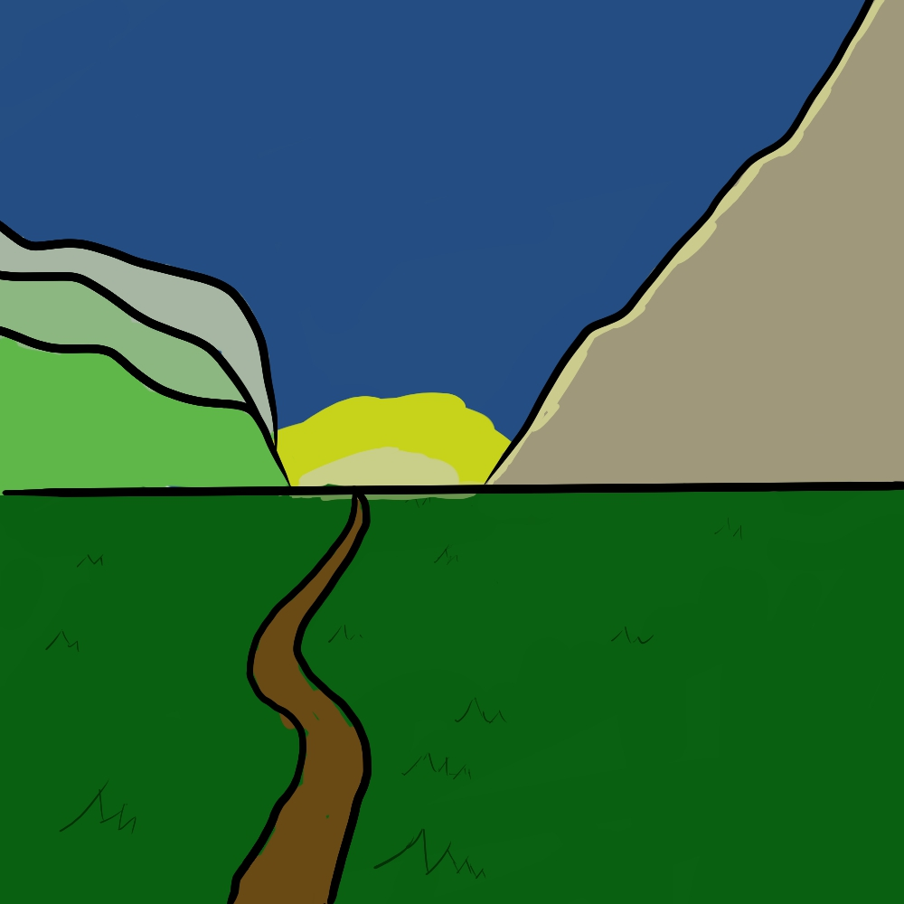 Landscape Cartoon