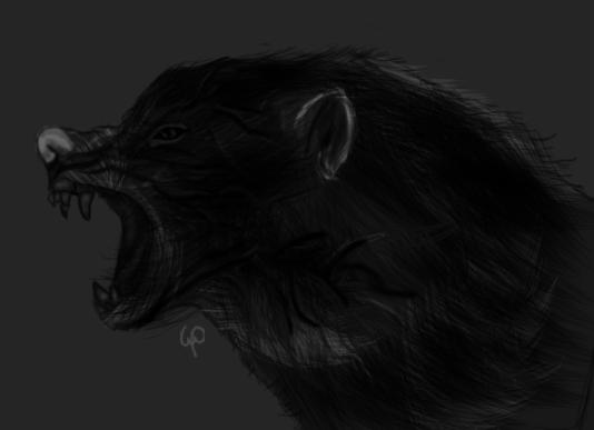 A wolf of dark secrets