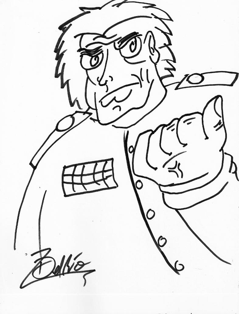 Captain Pronin ~Line Art~