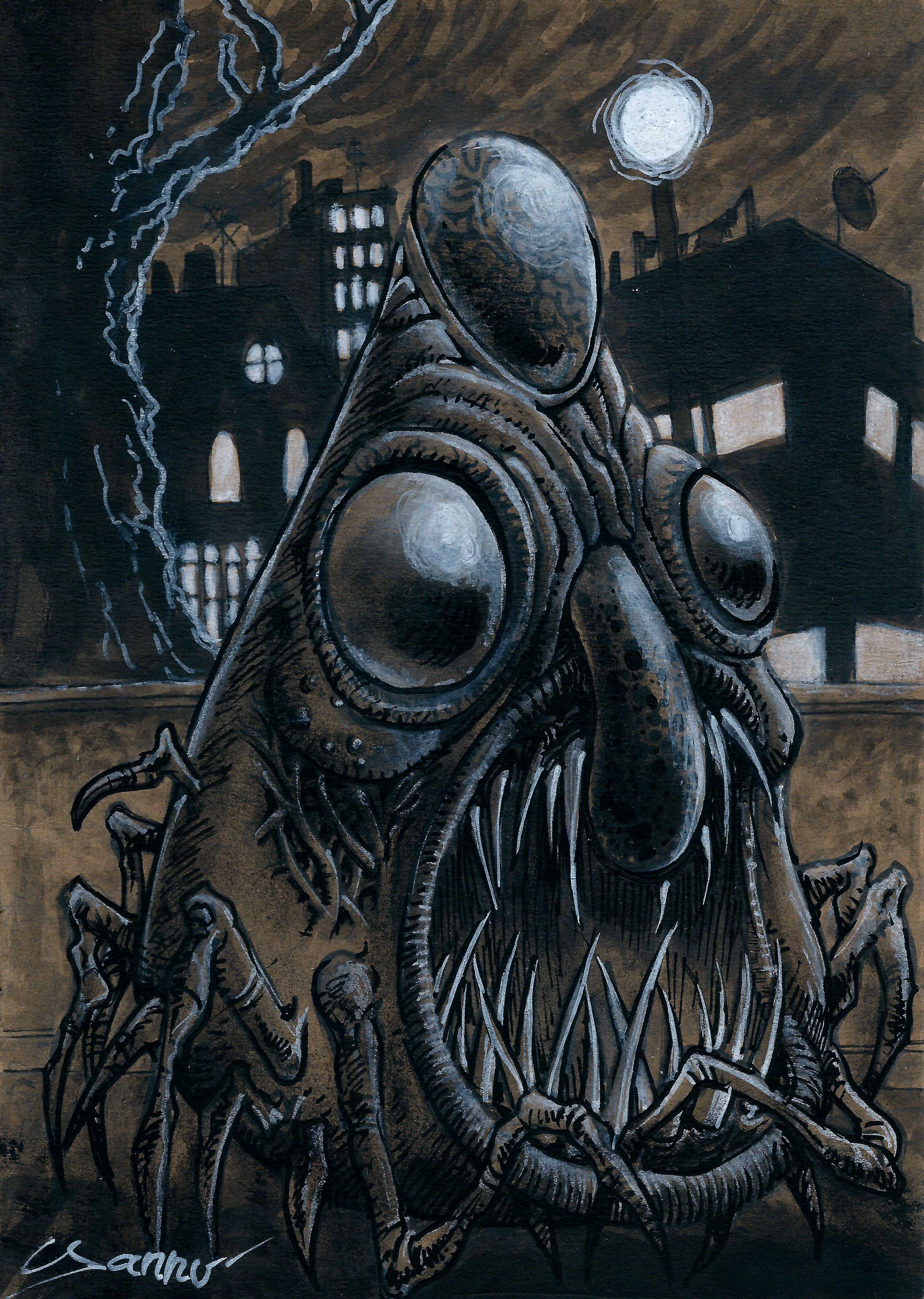 Halloween Daily monster #4