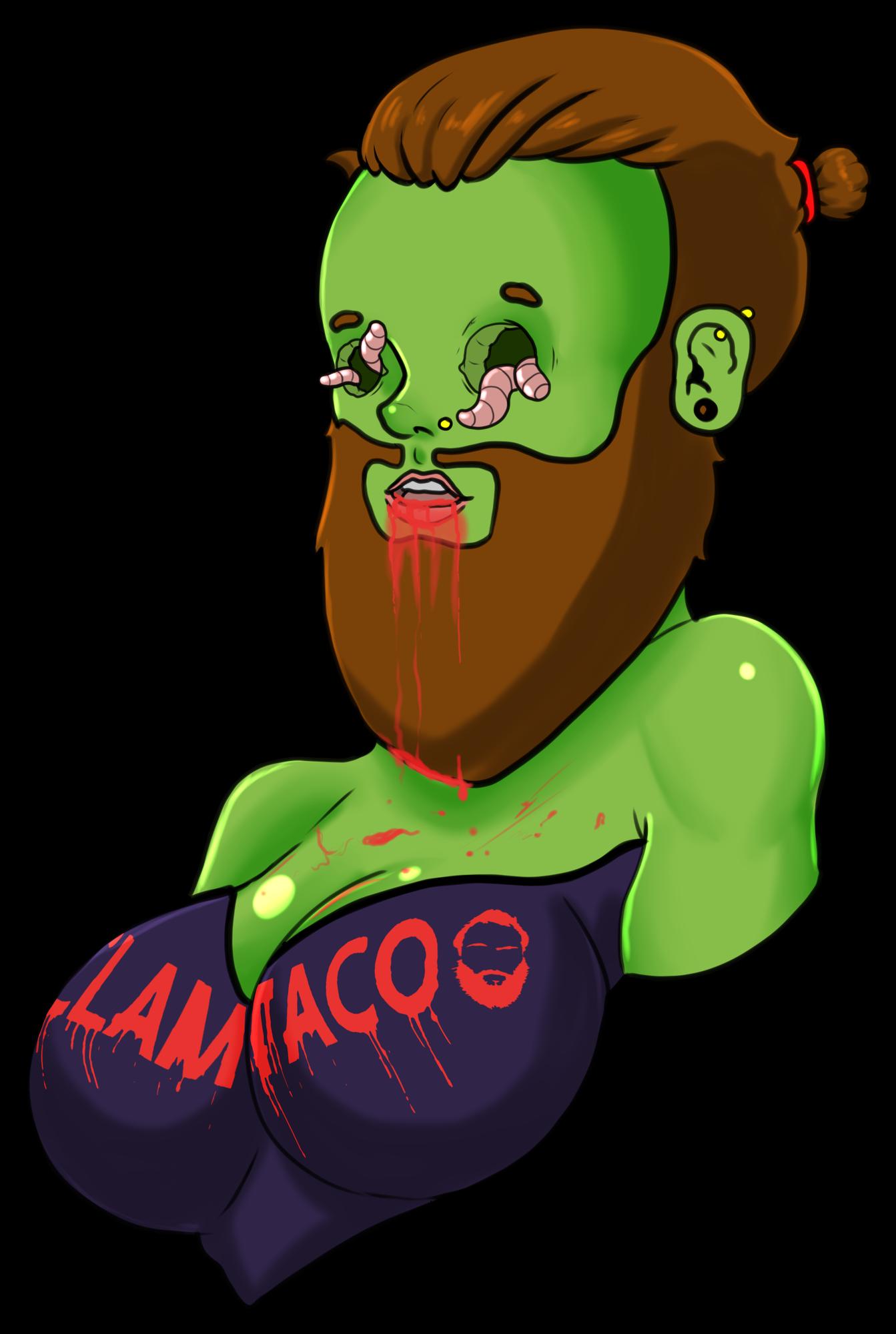 Zombie Clamtaco Female Variant