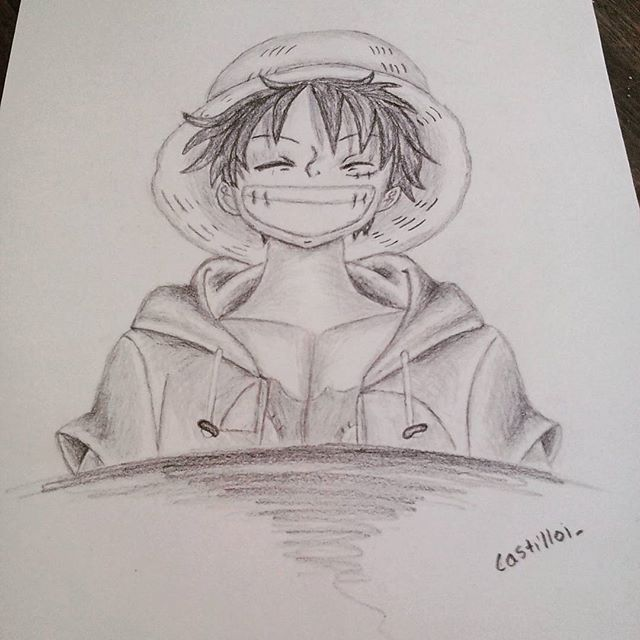 Shaded Luffy
