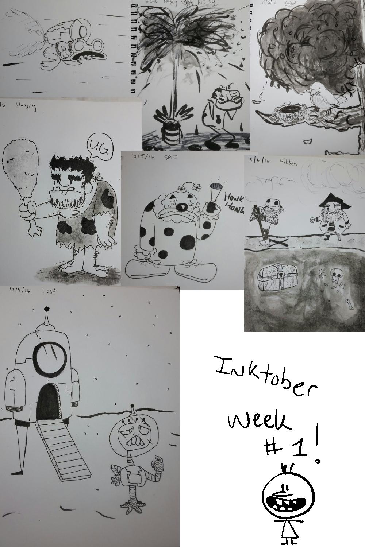 Inktober Week#1