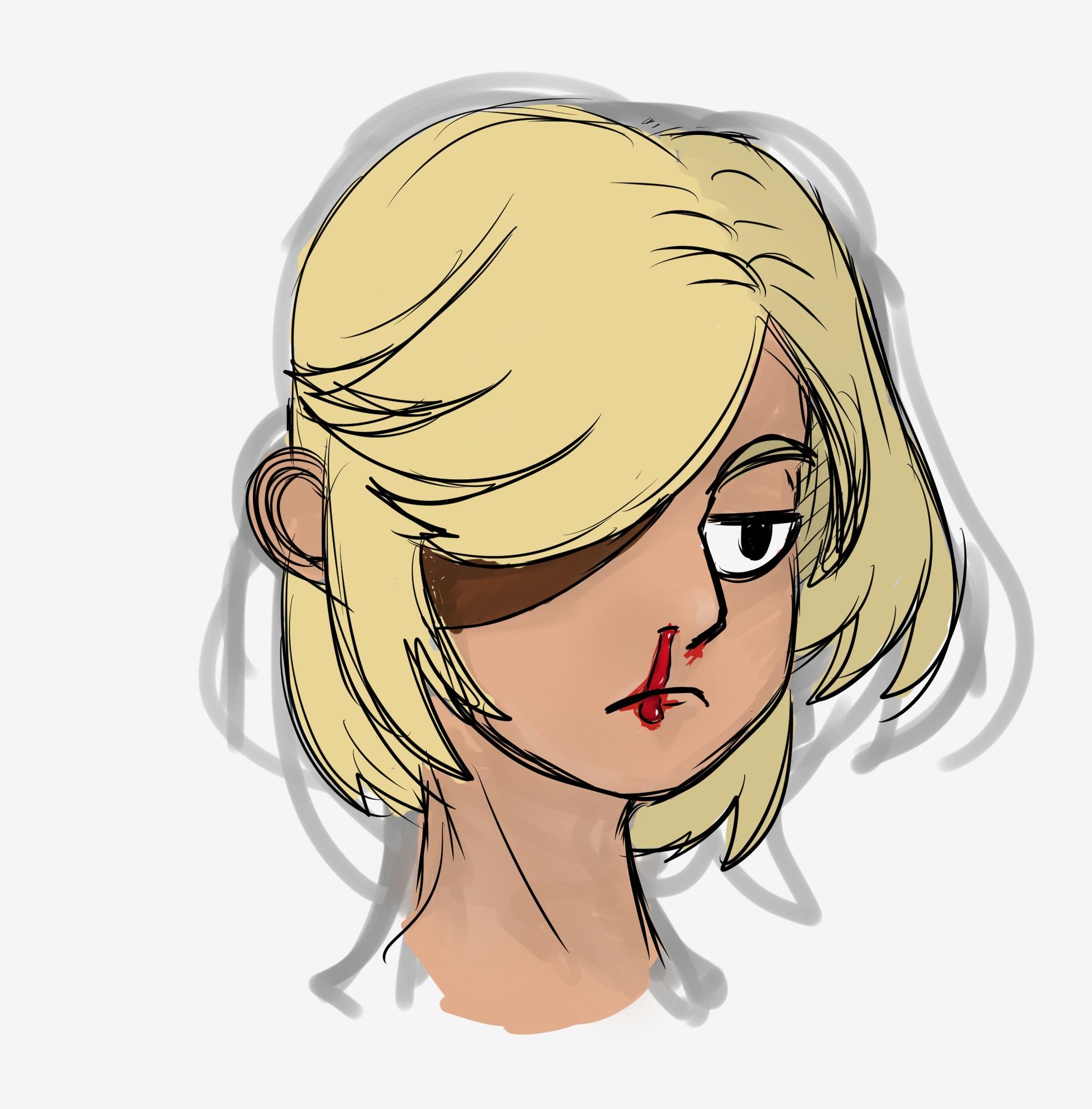Nosebleed girl 2