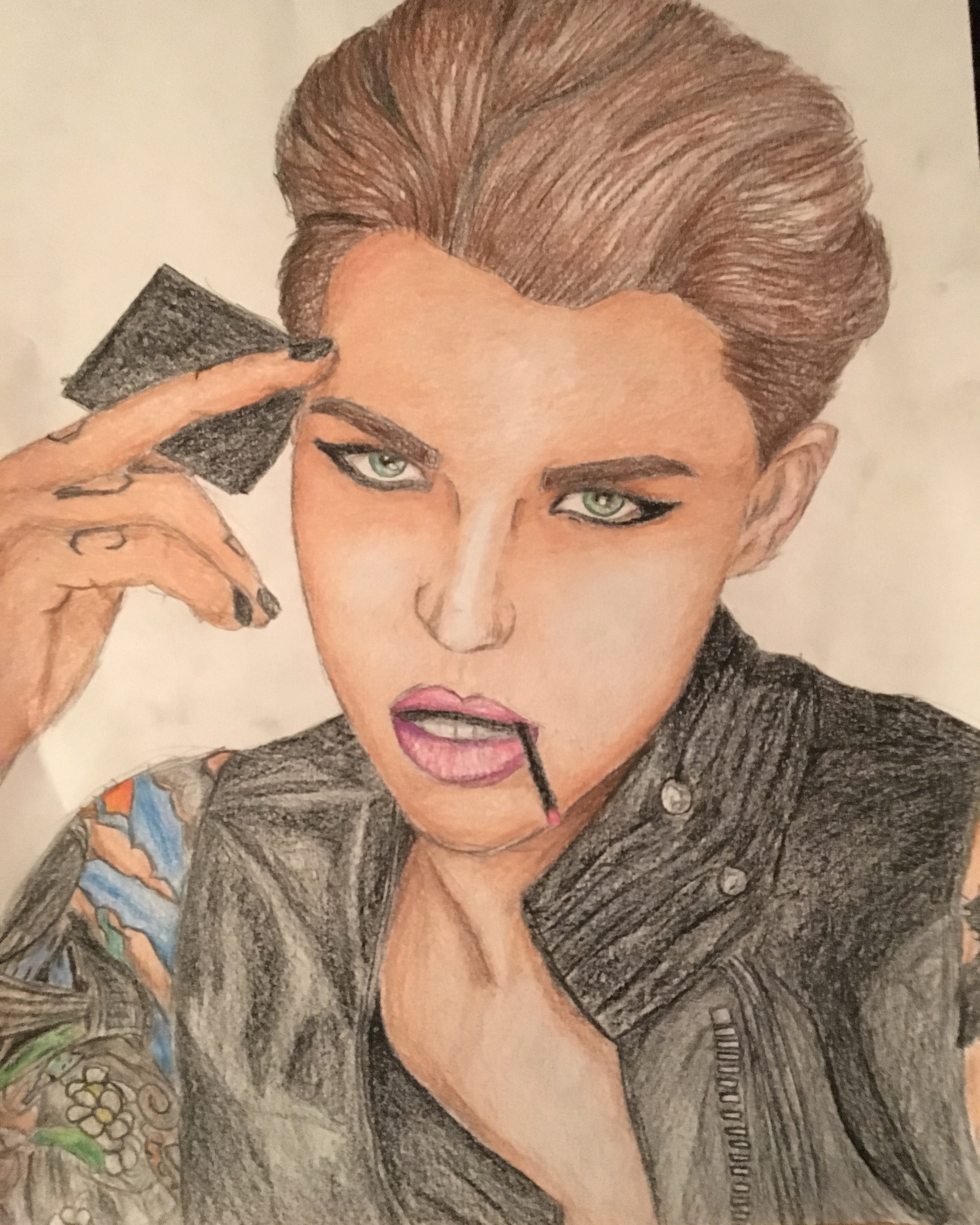 Ruby Rose Colour