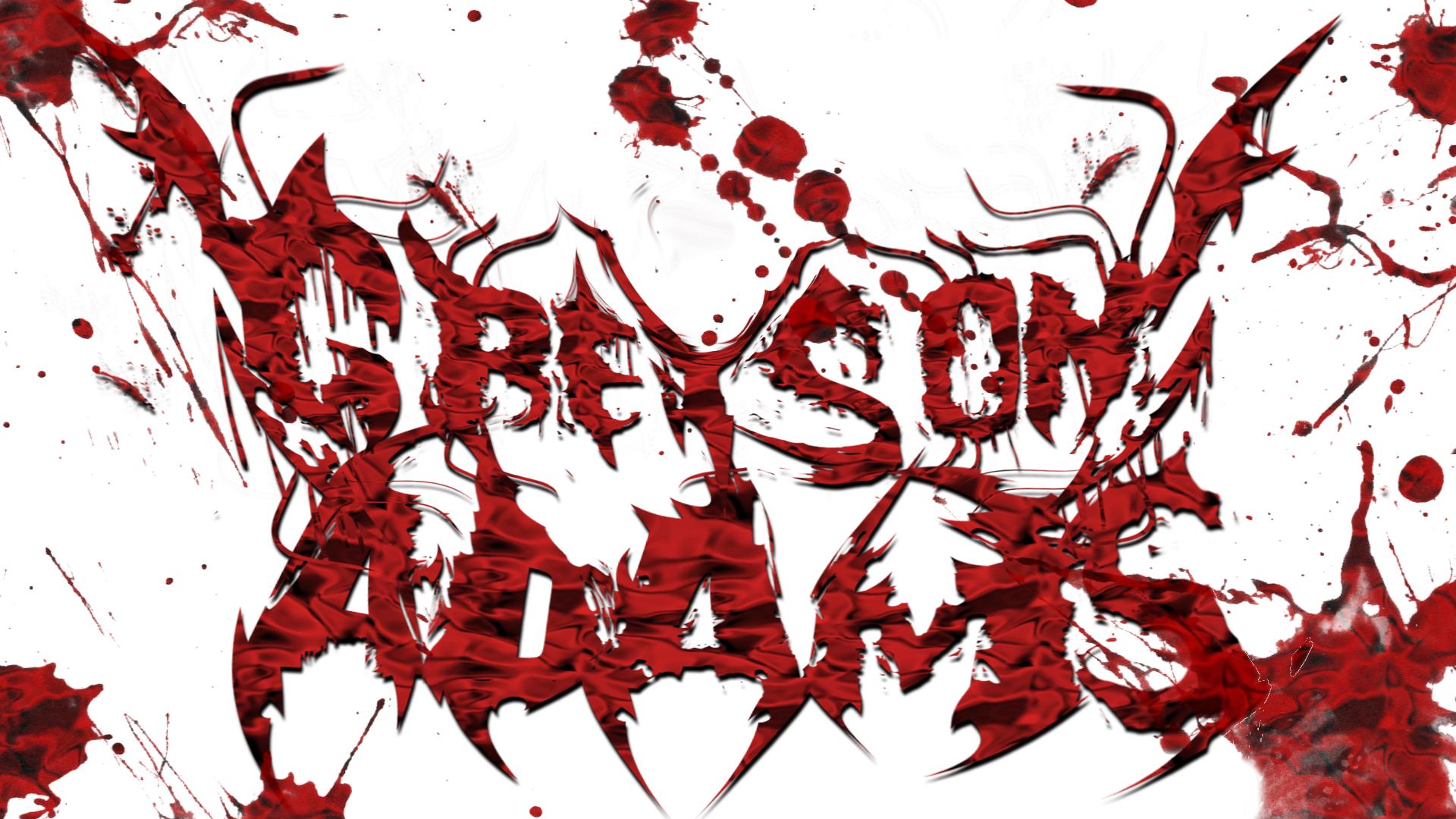 Greyson Adams (Deathcore Logo Example)