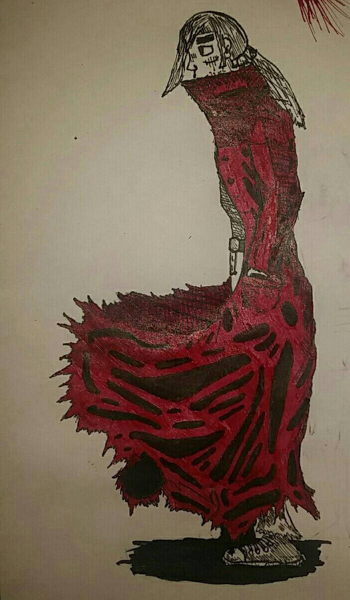 Ohlin Marter in Crimson Coat