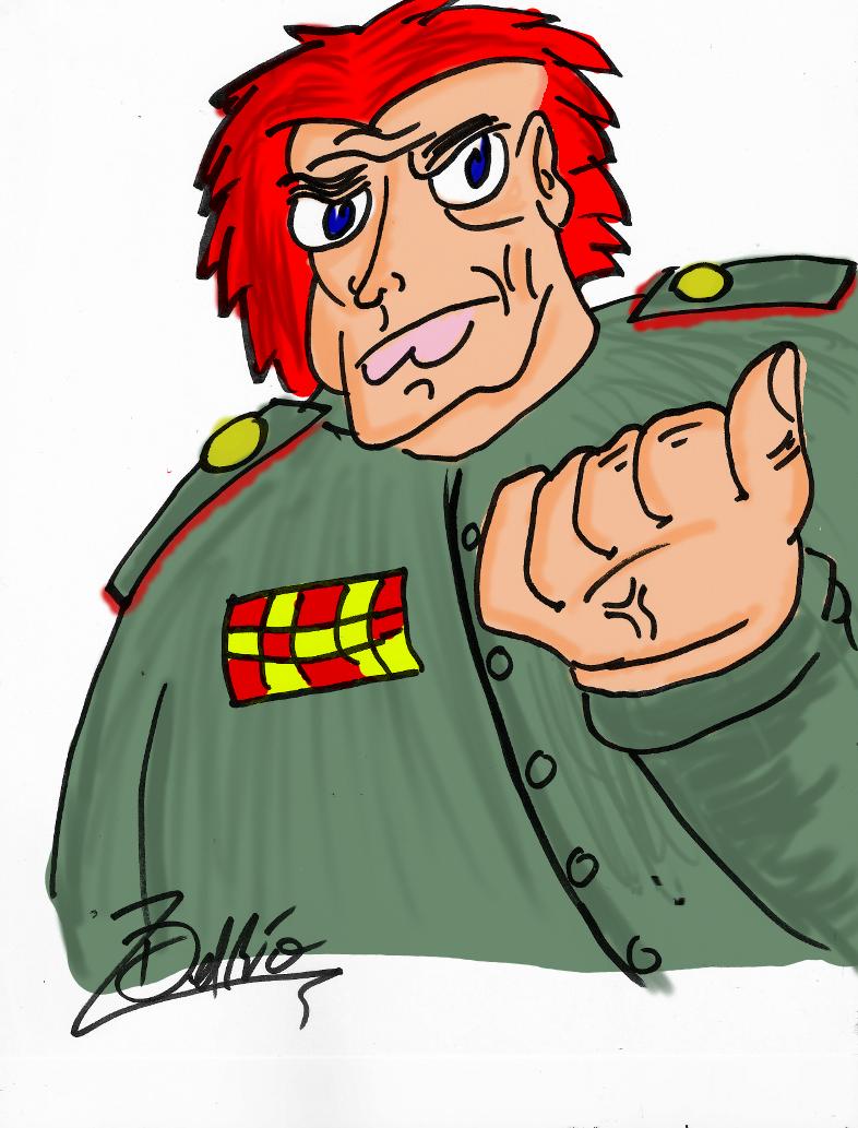 Captain Pronin ~Colored~