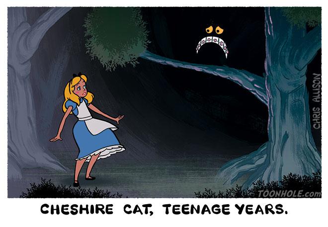 Teenage Cheshire Cat