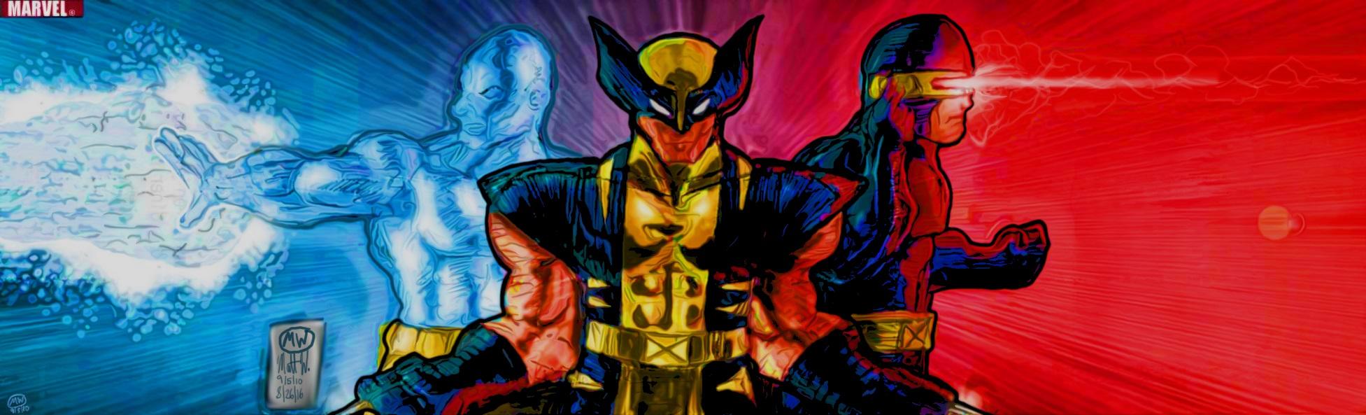 Iceman, Wolverine, Cyclops