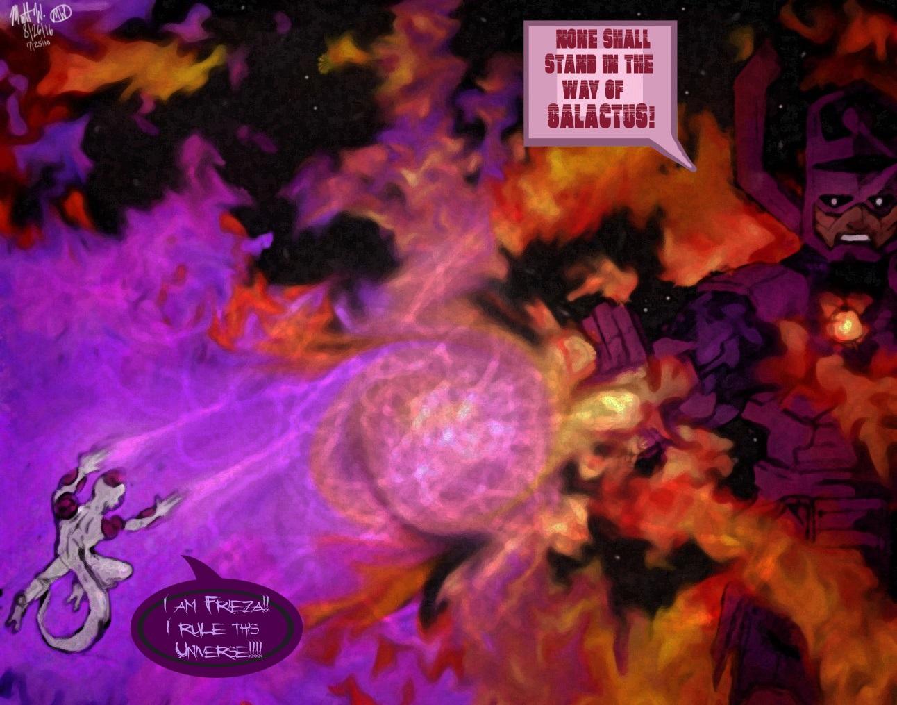 Frieza VS Galactus!