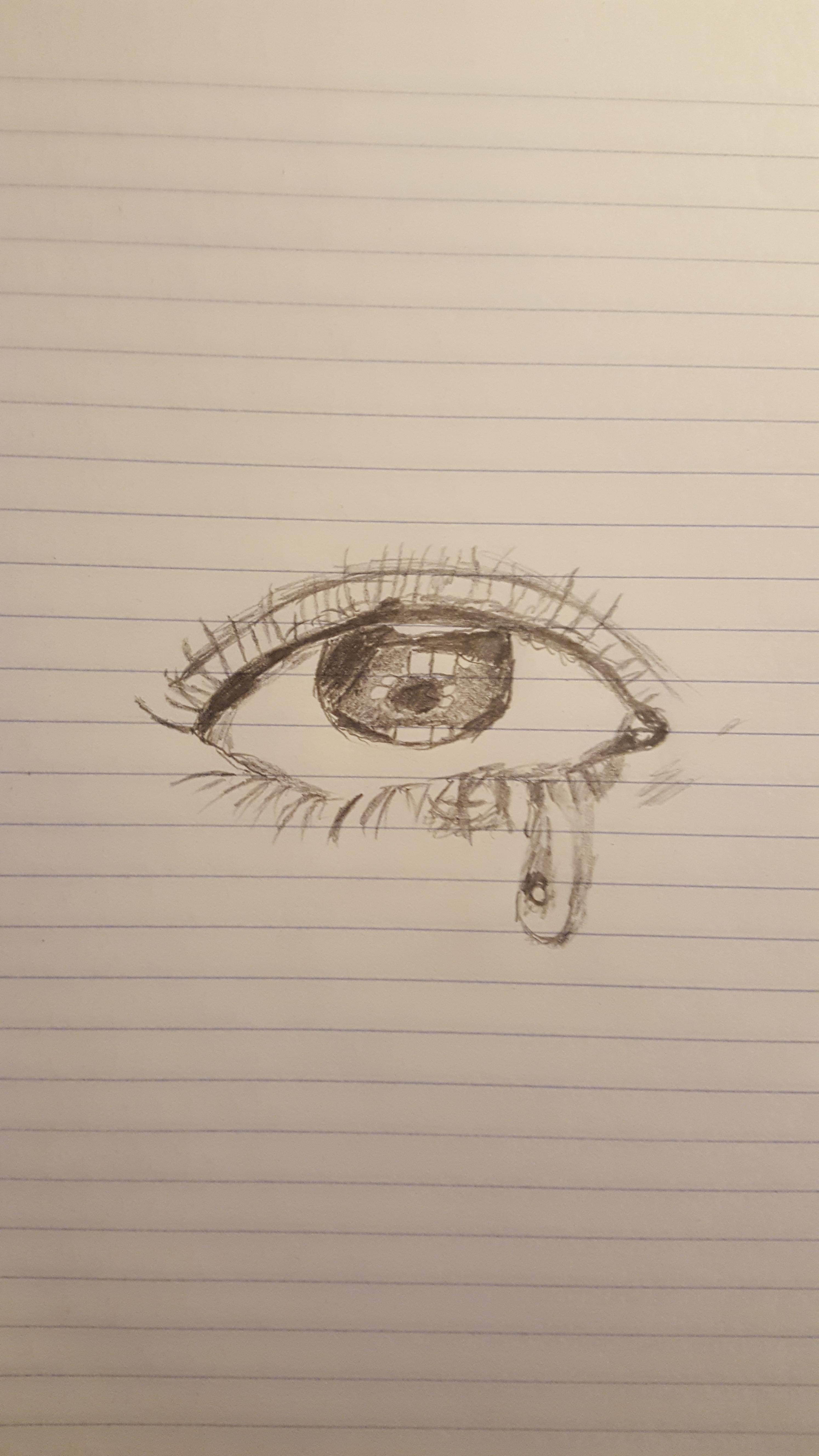 Human eye attempt